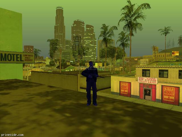 GTA San Andreas weather ID 249 at 21 hours