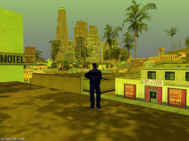 GTA San Andreas weather ID 249 at 22 hours