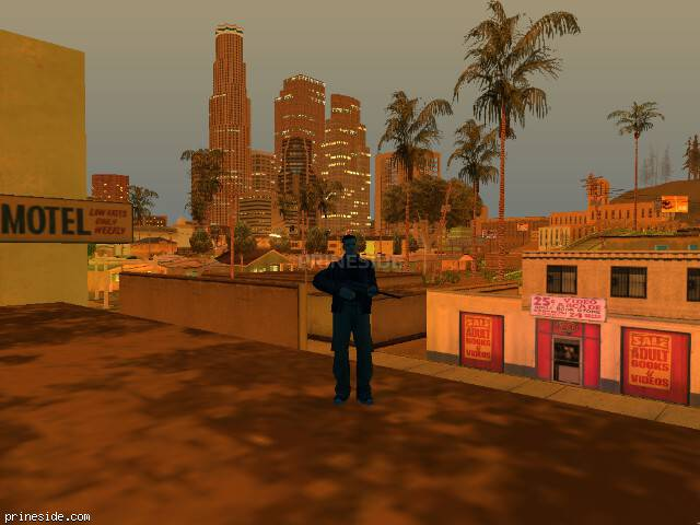 GTA San Andreas weather ID -7 at 23 hours