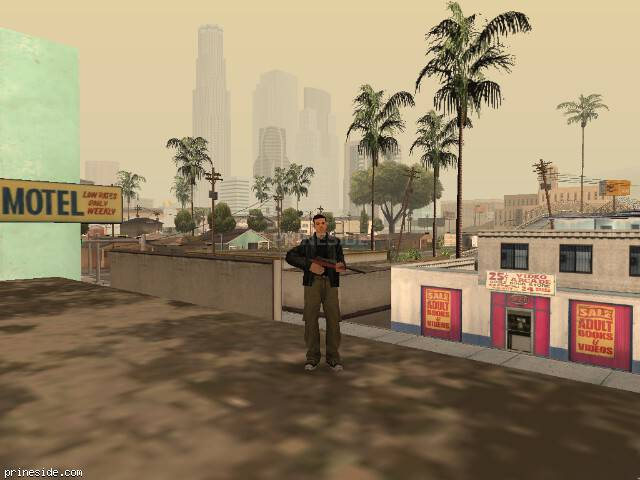 GTA San Andreas weather ID -487 at 15 hours