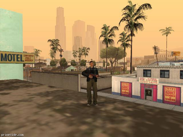 GTA San Andreas weather ID 25 at 17 hours