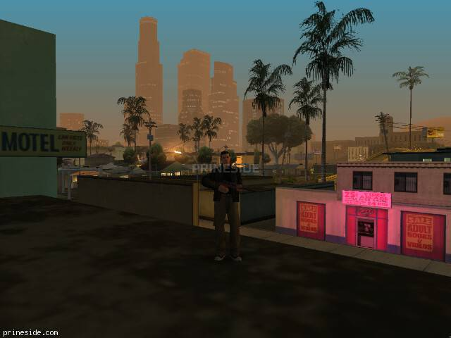 GTA San Andreas weather ID -487 at 2 hours