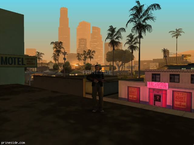 GTA San Andreas weather ID -999 at 3 hours