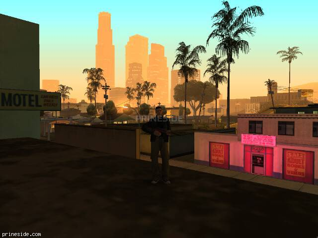 GTA San Andreas weather ID -487 at 4 hours