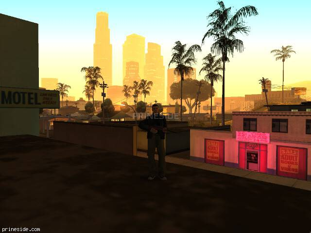 GTA San Andreas weather ID -487 at 5 hours