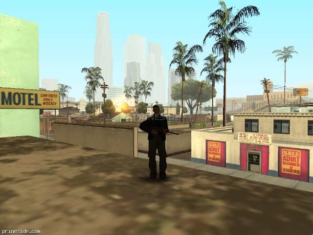 Просмотр погоды GTA San Andreas с ID -487 в 7 часов