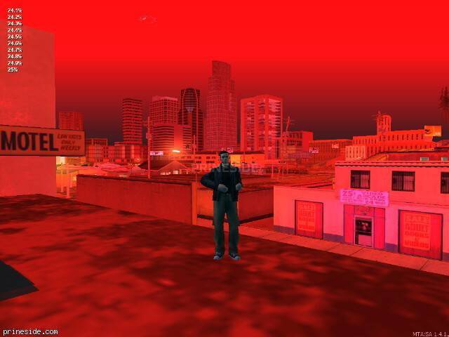 GTA San Andreas weather ID 250 at 0 hours