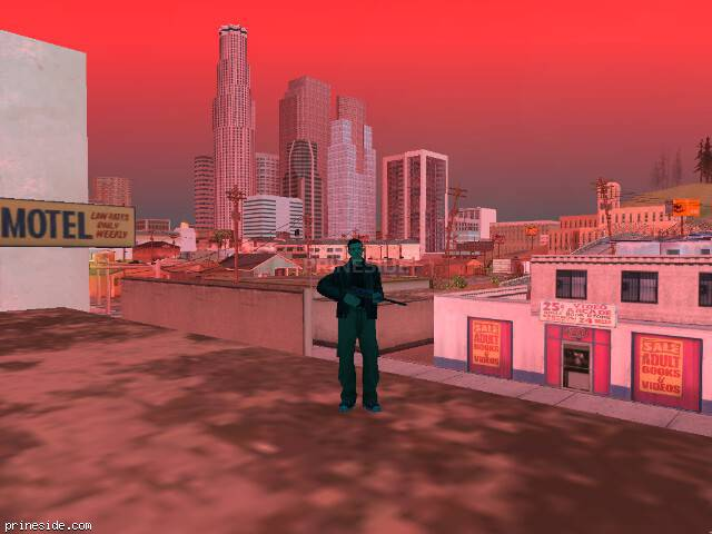 GTA San Andreas weather ID 250 at 11 hours