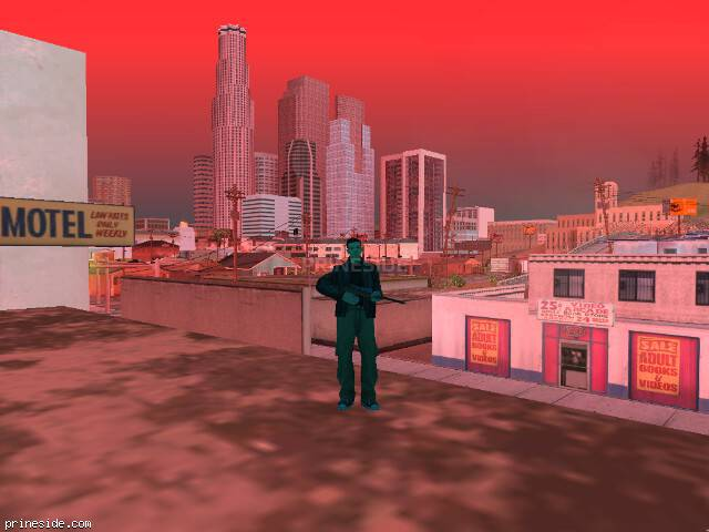 GTA San Andreas weather ID 250 at 14 hours