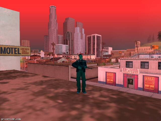 GTA San Andreas weather ID 1018 at 16 hours