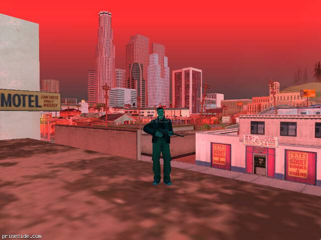 GTA San Andreas weather ID 250 at 17 hours