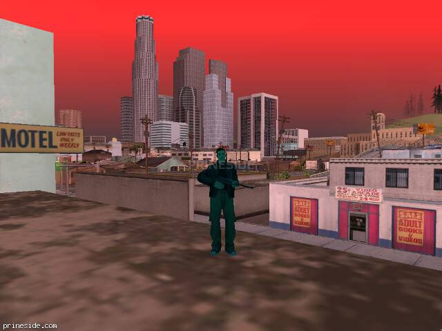 GTA San Andreas weather ID 250 at 18 hours