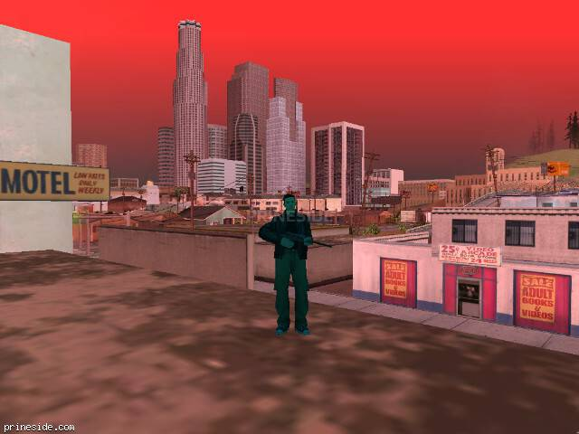 GTA San Andreas weather ID 250 at 19 hours