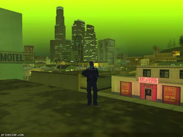 GTA San Andreas weather ID 250 at 22 hours