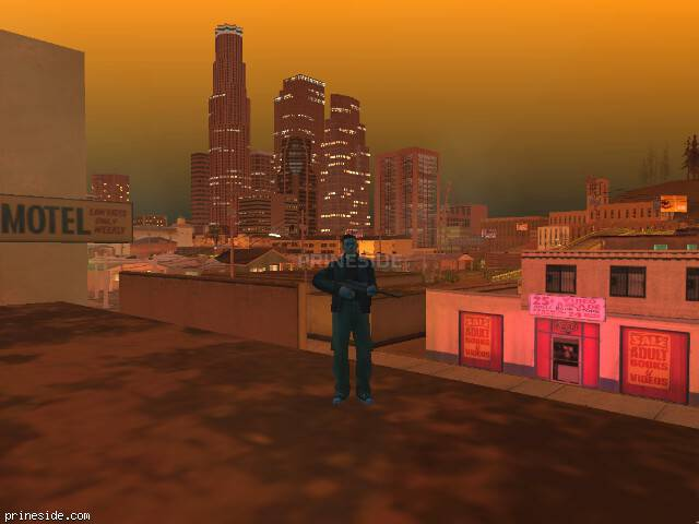 GTA San Andreas weather ID 250 at 23 hours