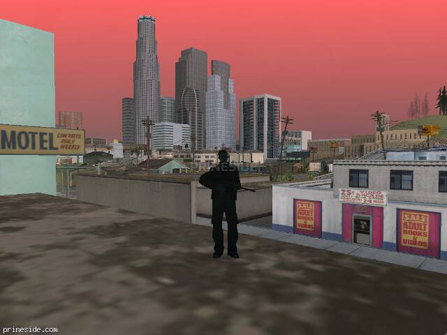 GTA San Andreas weather ID 250 at 7 hours