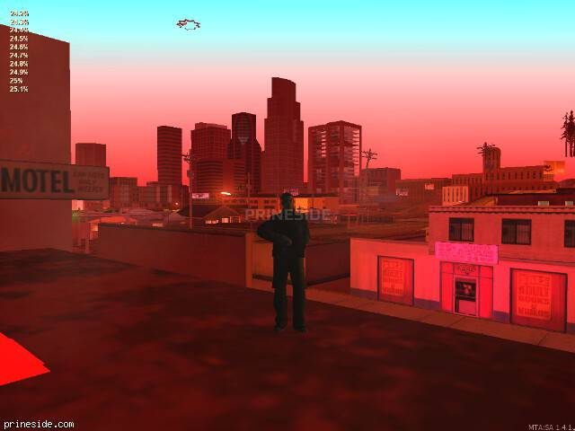 GTA San Andreas weather ID 251 at 0 hours