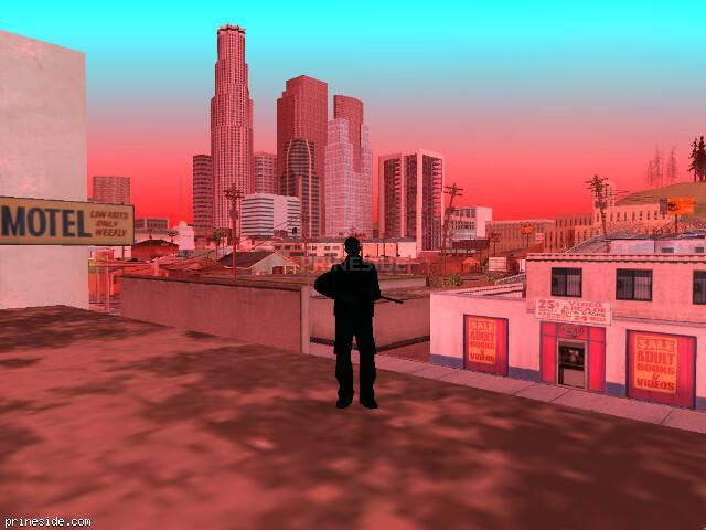 GTA San Andreas weather ID 1019 at 11 hours