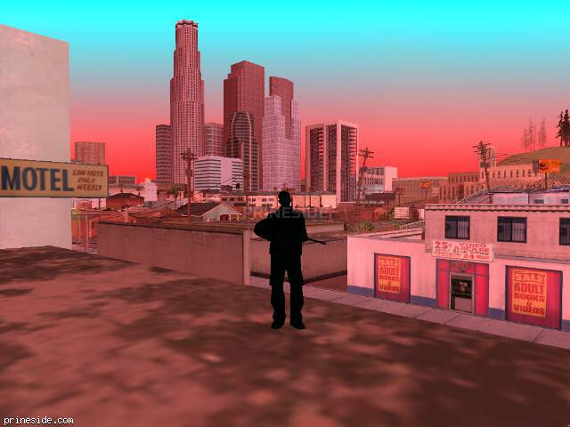 GTA San Andreas weather ID -5 at 13 hours