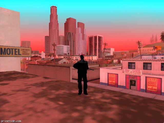 GTA San Andreas weather ID 1019 at 15 hours
