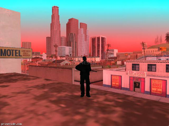 GTA San Andreas weather ID 251 at 16 hours