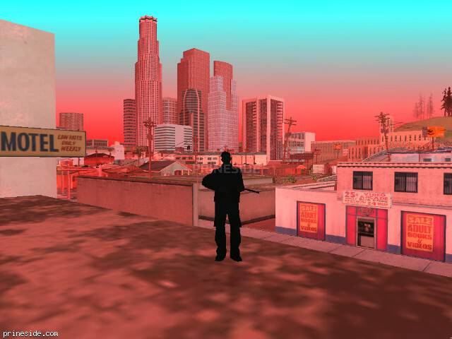 GTA San Andreas weather ID 251 at 19 hours