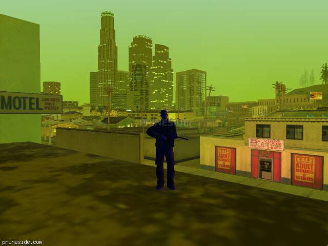 GTA San Andreas weather ID 1019 at 21 hours
