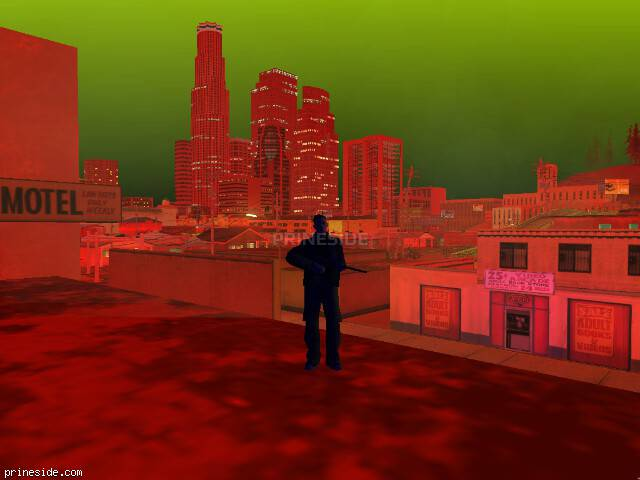 GTA San Andreas weather ID 1019 at 22 hours