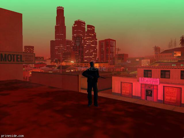 GTA San Andreas weather ID 251 at 23 hours