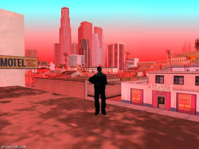GTA San Andreas weather ID 1019 at 7 hours