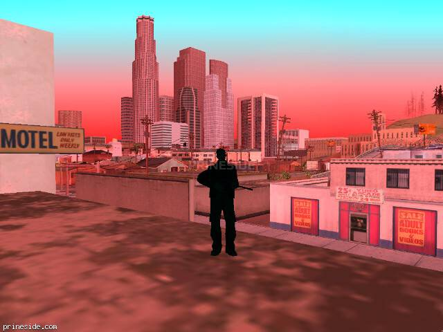 GTA San Andreas weather ID -261 at 8 hours