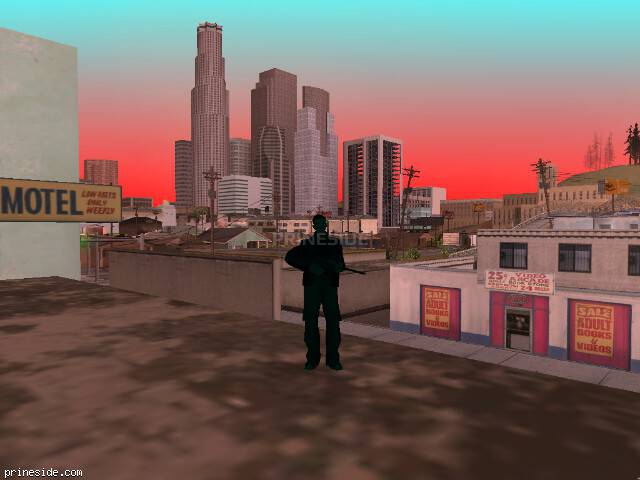 GTA San Andreas weather ID 252 at 13 hours