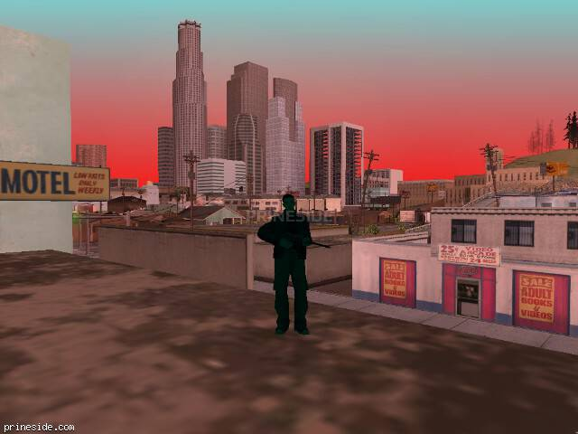 GTA San Andreas weather ID 252 at 14 hours