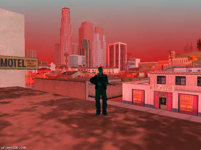 GTA San Andreas weather ID 252 at 15 hours