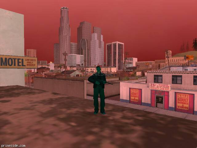 GTA San Andreas weather ID 252 at 17 hours