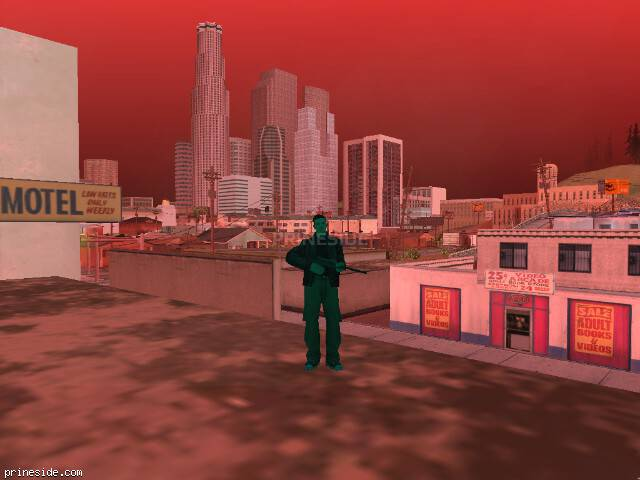 GTA San Andreas weather ID 252 at 18 hours