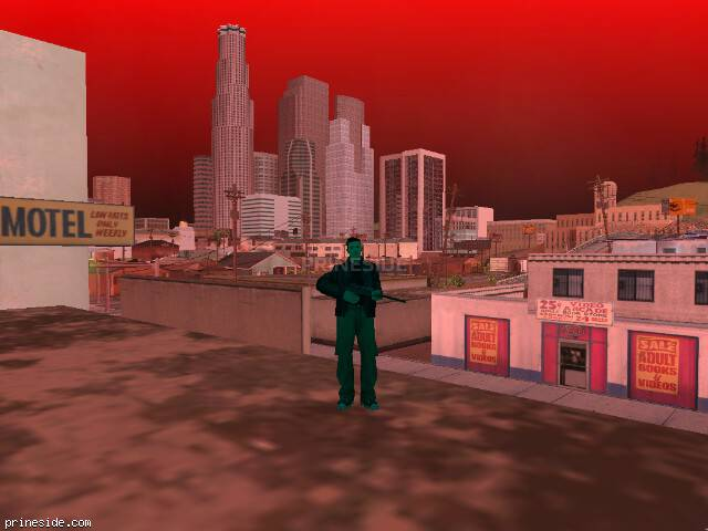 GTA San Andreas weather ID 252 at 19 hours