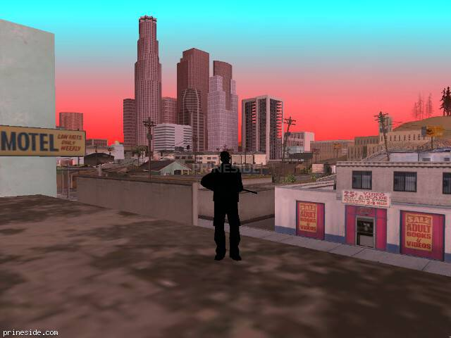 GTA San Andreas weather ID 252 at 8 hours