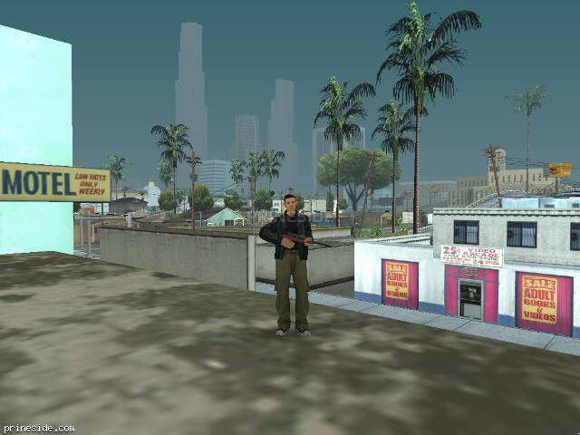 GTA San Andreas weather ID 27 at 19 hours