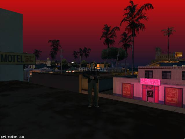 GTA San Andreas weather ID 283 at 23 hours