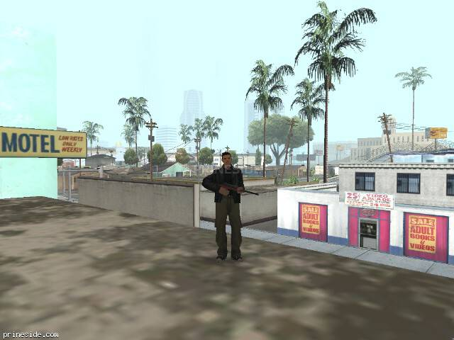 GTA San Andreas weather ID -485 at 8 hours