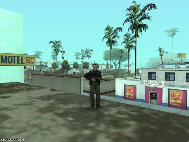 GTA San Andreas weather ID 28 at 12 hours