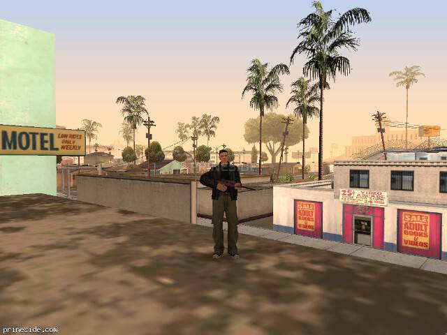 GTA San Andreas weather ID 28 at 19 hours
