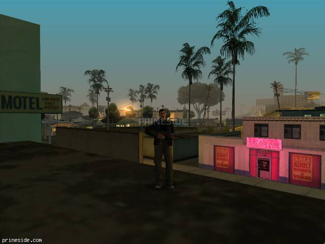 GTA San Andreas weather ID 28 at 2 hours