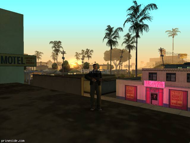 GTA San Andreas weather ID 28 at 4 hours