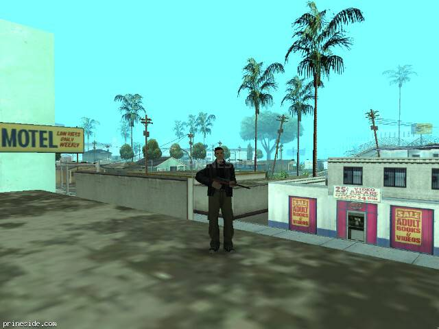 GTA San Andreas weather ID 28 at 8 hours