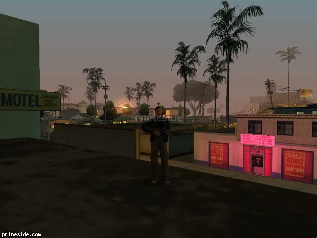 Просмотр погоды GTA San Andreas с ID 29 в 2 часов