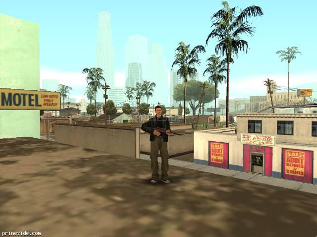 Просмотр погоды GTA San Andreas с ID 3 в 15 часов