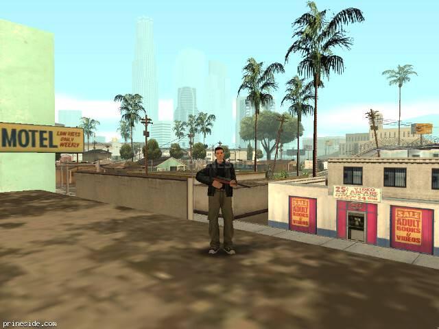 Просмотр погоды GTA San Andreas с ID 3 в 16 часов