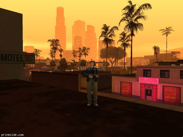 GTA San Andreas weather ID 3 at 21 hours